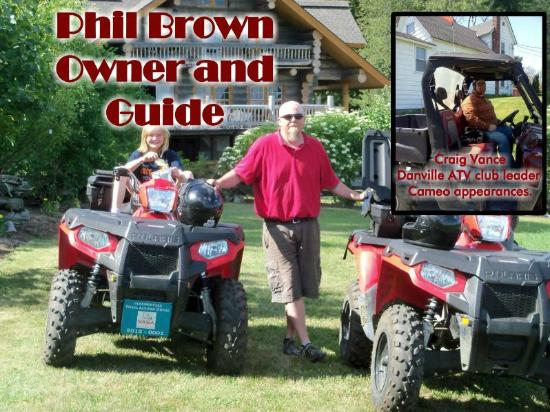 NEK Adventures ATV & Snowmobile Tours: Phil Brown owner and guide