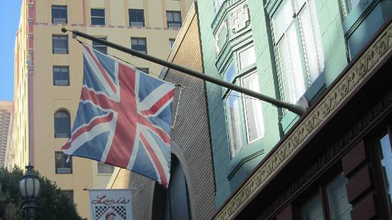 King George Hotel: Flag