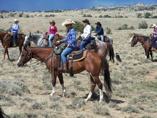 The Bucking S Ranch: riders