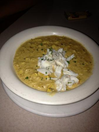 Backfin Blue Cafe : clam chowder