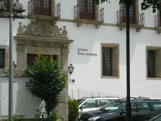 Pousada Mosteiro Guimarães: Voorgevel