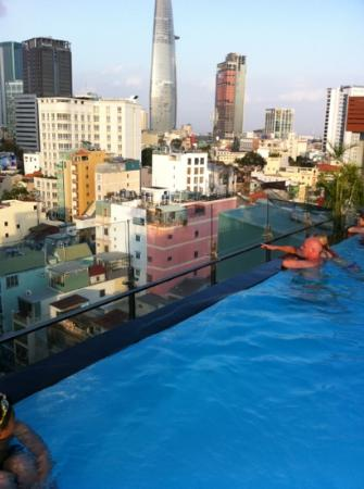 Rooftop pool picture of grand silverland hotel spa ho Ho chi minh city hotels with swimming pool