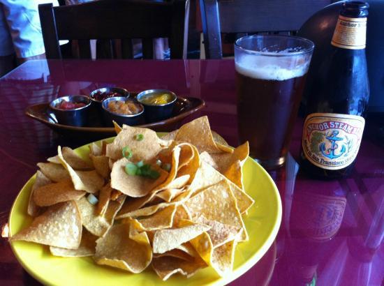 Coyote Kitchen: Chips 'n Salsa Sampler