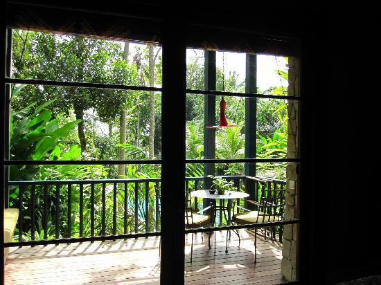 Taman Bebek Resort & Spa: our balcony overlooking another amazing pool