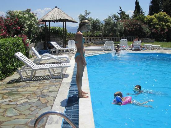 Kassiopi Bay: A fantastic pool area