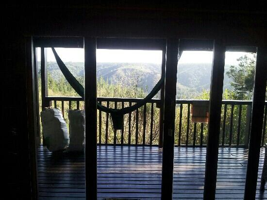 Forest Valley Cottages: view from bed