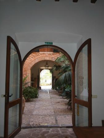 Son Bleda: Sicht zum Innenhof