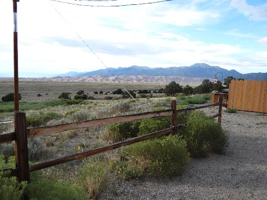 Great Sand Dunes Lodge: View from Back Porch