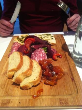 The Rendezvous Bar & Restaurant: Amazing French Butcher Board!