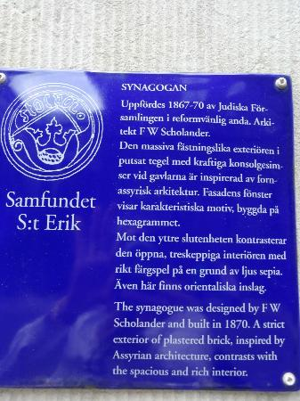 The Great Synagogue of Stockholm: The Great Synagogue