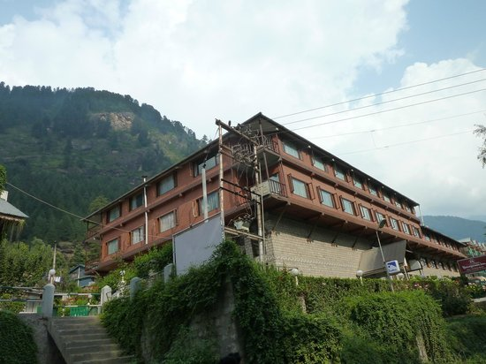 Honeymoon Inn Manali: view of the hotel
