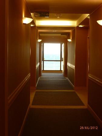 Austral Plaza Hotel: pasillo
