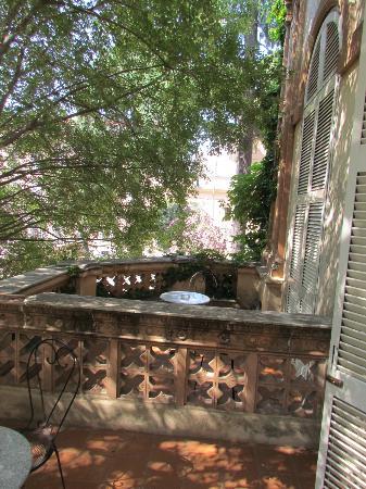 فندق فيلا دل روز: balcones de habitaciones 
