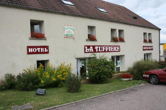 Rolampont, France: Eenvoudig hotelletje.