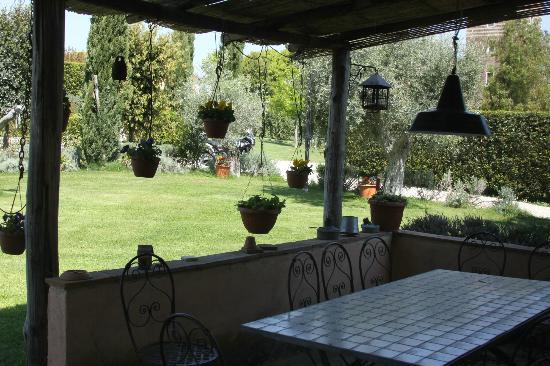 Torretta de'Massimi : Terrace