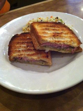 The Brick: Cuban panini and chilled couscous