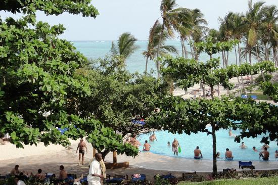 Karafuu Beach Resort and Spa: Vue de la chambre