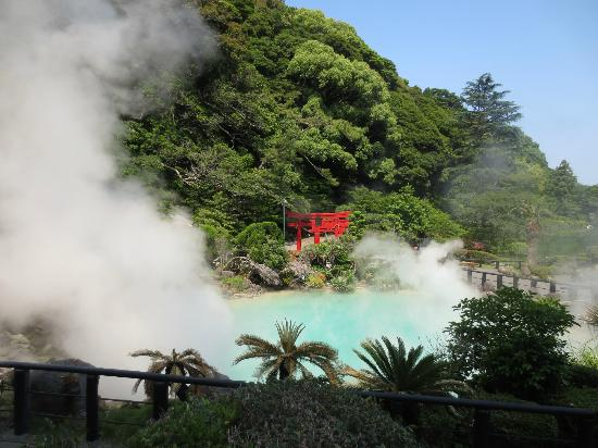 Hells of Beppu: best sight in Umi Jigoku