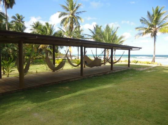 Itacarezinho Beach : Itacarezinho redes