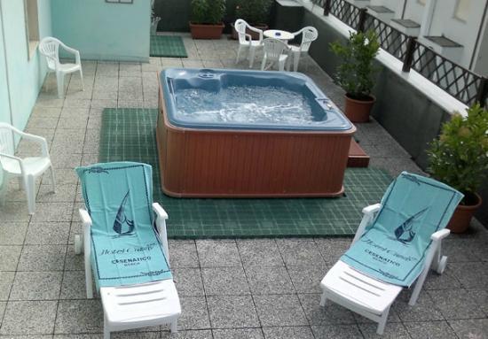 Hotel Camay: Terrazza Solarium con Idromassaggio