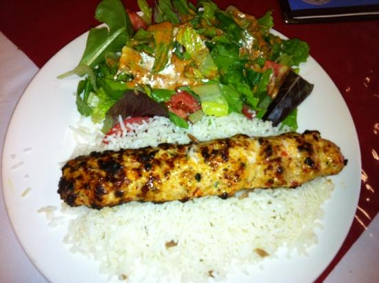 Turkish Kitchen: one of our dishes-chopped chicken with red peppers!