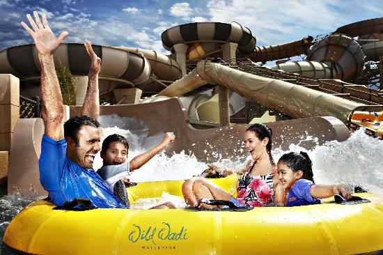 Provided by: Wild Wadi Water Park