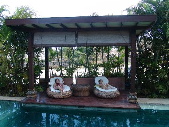 Lautan Kupu - Kupu Villas : Lovely pool area