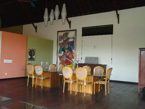 Lautan Kupu - Kupu Villas: Beautiful interior, common area