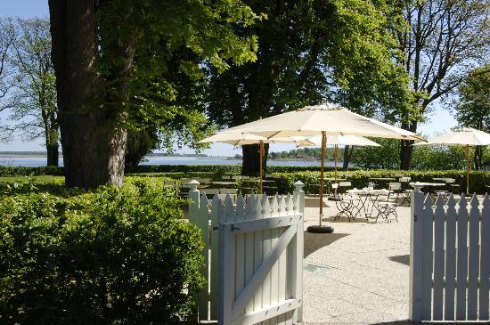 Hotel Frederiksminde: Terassen