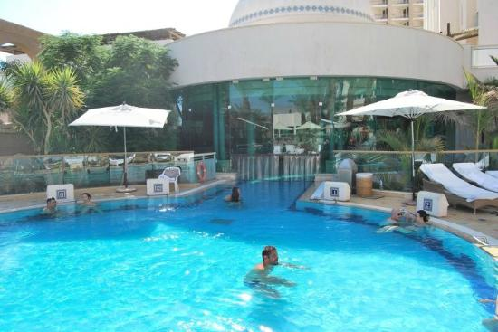 Herods Vitalis Spa Hotel Eilat: The pool for Vitalis guests