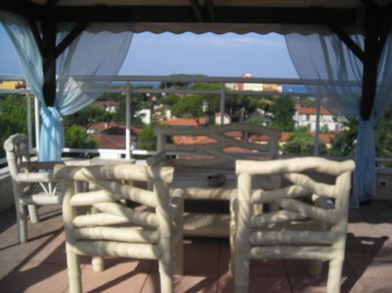 Hotel Villa Marzia: Panorama dal terrazzo, ultimo piano