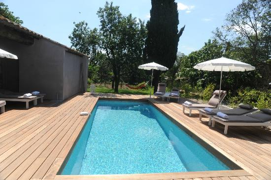 Les Chambres d'Andréa : piscine