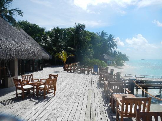 Kuramathi Island Resort: Laguna Baar