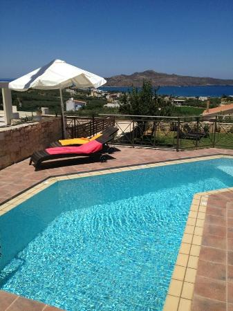Lofos Village: panoramic view from pool 