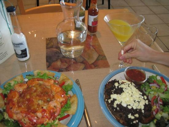 Sabroso : Our delicious meal!