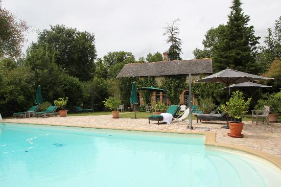 Chateau des Briottieres : Pool and pool house