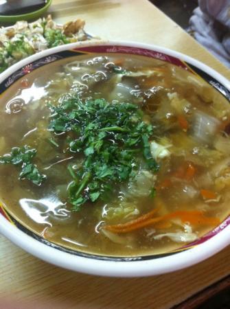 Nanjichang Night Market : 酸辣湯
