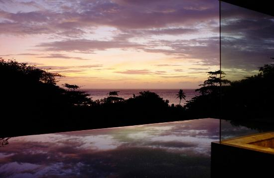 Four Seasons Resort Seychelles: Evening View after a great sunset