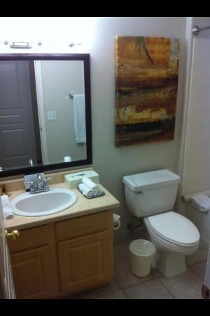 Scottsdale Links Resort: Seperate Bathroom