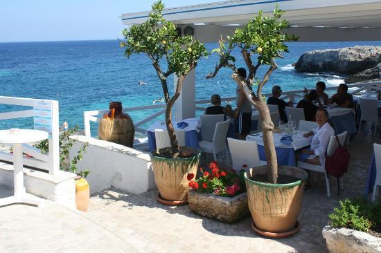 Marina di Novaglie, Italy: I tavoli