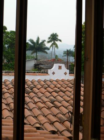 Yat B'alam Boutique Hotel: View from the window