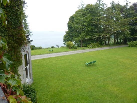 Currarevagh House: vue depuis chambre 10