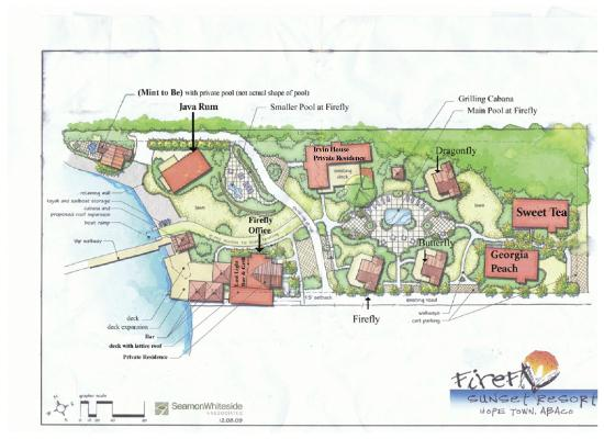 A Layout Of Our Property Picture Of Firefly Sunset Resort