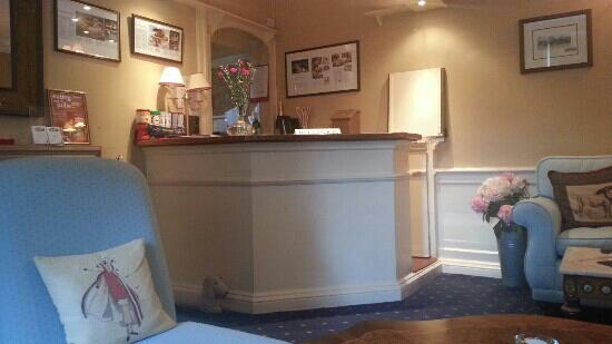 Coachman Inn: reception