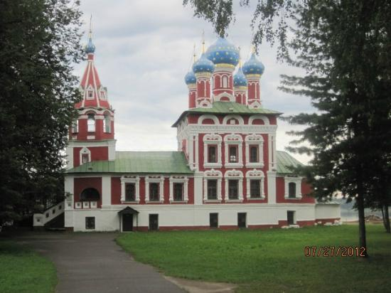 Углич, Россия: Church of Prince Dimitry-on-Blood, Uglich, Russian Federation.