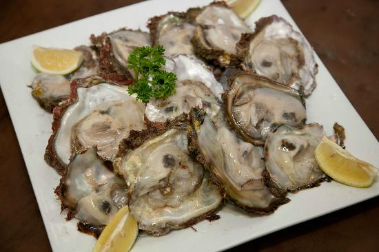 Blue Olive Restaurant: Wild Mossel Bay Oysters