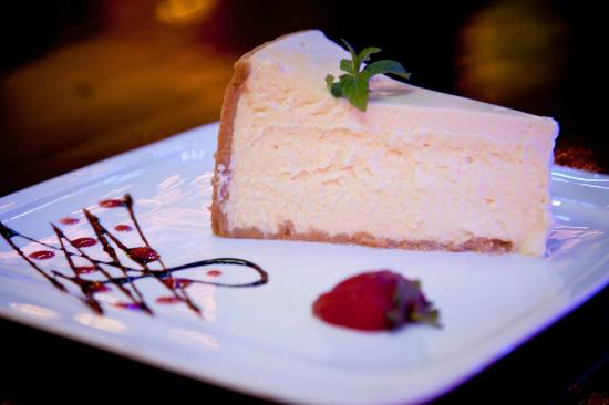 Blue Olive Restaurant: Aiden's Award Winning Baked Cheesecake