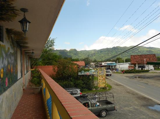 Hotel Residencial El Valle: Balcony View from Second Floor