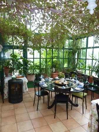 The Quay House : veranda petit dej2
