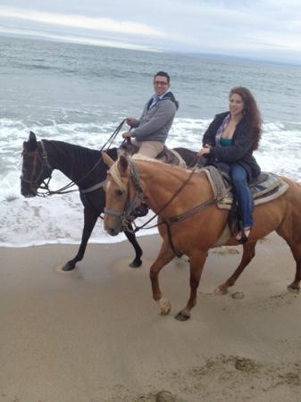 Monterey Bay Equestrian Center: beach ride